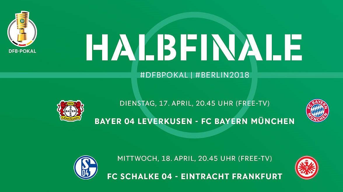 Dfb Pokal Halbfinale Free Tv