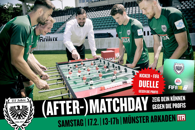 SC Preußen Münster plant ein (After-) Matchday in den ...
