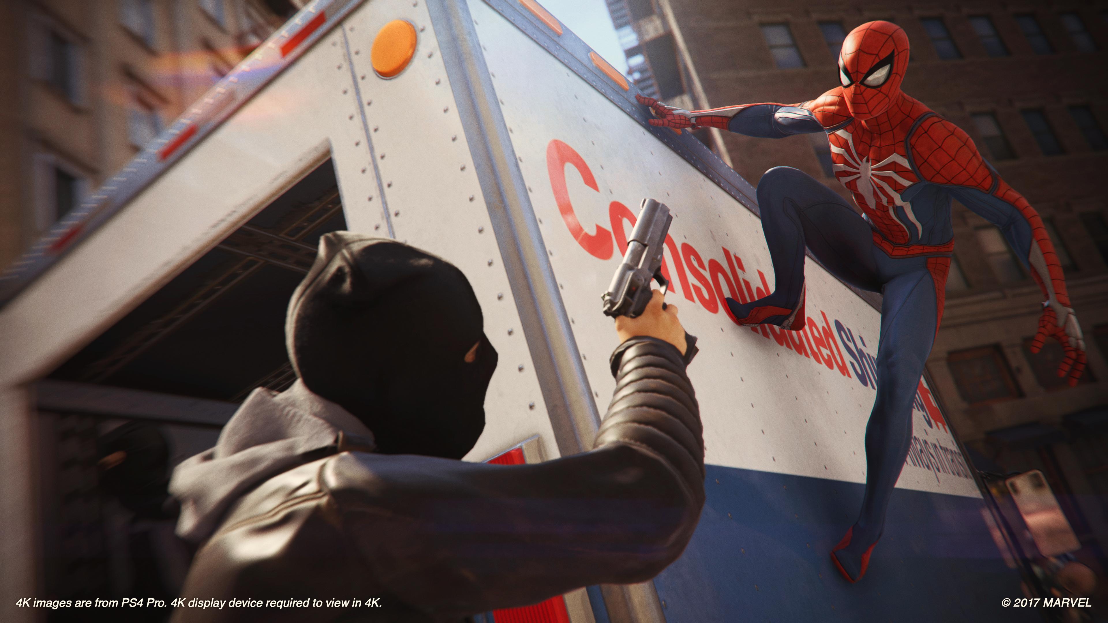 Spider-Man – Limitierte PlayStation 4 Pro-Design angekündigt ...