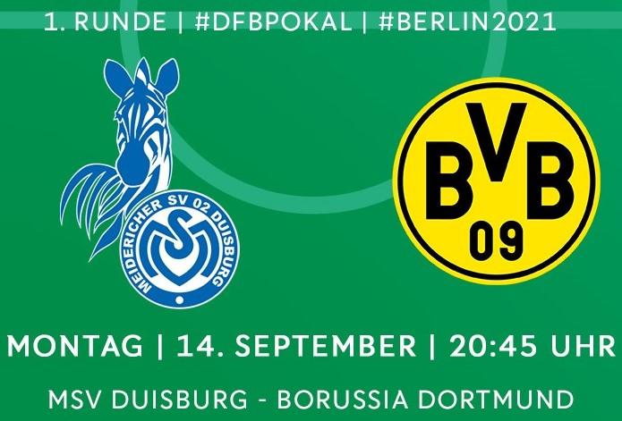 Dfb Pokal Dortmund 2021